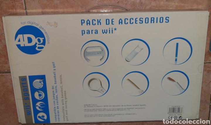 Videojuegos y Consolas: PACK DE ACCESORIOS PARA WII SPORTS - Foto 2 - 276797418