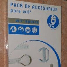 Videojuegos y Consolas: PACK DE ACCESORIOS PARA WII SPORTS. Lote 276797418