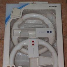 Videojuegos y Consolas: PACK 2X VOLANTES NINTENDO WII MOTION PLUS COMPATIBLE. Lote 276798188