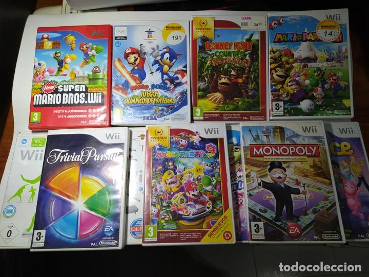 LOTE/ PACK 11 JUEGOS NINTENDO WII - WII U - JUEGAZOS ! MARIO PARTY ..NEW MARIO.. DONKEY.. (Juguetes - Videojuegos y Consolas - Nintendo - Wii)
