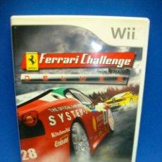 Videojuegos y Consolas: FERRARI CHALLENGE DELUXE JUEGO DE WII. Lote 276954173