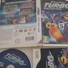 Videojuegos y Consolas: TURBO SUPER STUNT SQUAD NINTENDO WII PAL ESP. Lote 277022308