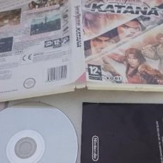 Videojuegos y Consolas: SAMURAI WARRIORS KATANA - NINTENDO WII - USADO - BUEN ESTADO. Lote 277023193