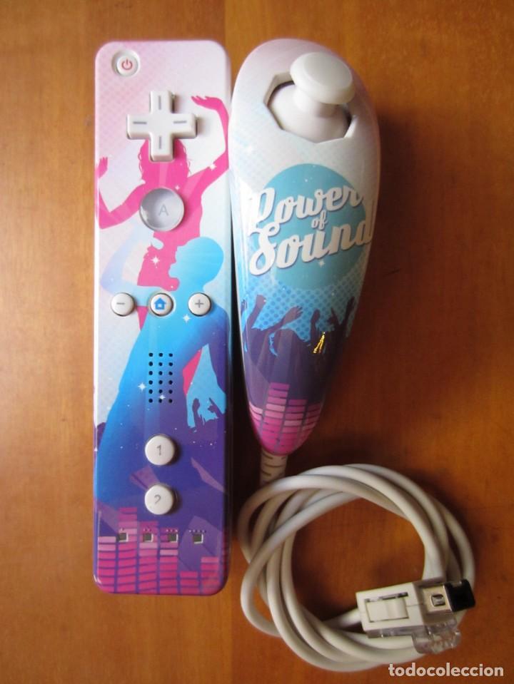Videojuegos y Consolas: Mando Wii Motion Plus y Nunchuk (Marca Generica) - Foto 2 - 277031933
