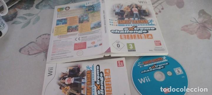 FAMILY TRAINER EXTREME CHALLENGE NINTENDO WII (PAL ESPAÑA MUY BUEN ESTADO) (Juguetes - Videojuegos y Consolas - Nintendo - Wii)