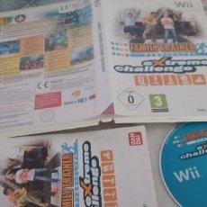 Videojuegos y Consolas: FAMILY TRAINER EXTREME CHALLENGE NINTENDO WII (PAL ESPAÑA MUY BUEN ESTADO). Lote 277032853