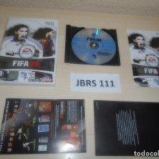 Videojuegos y Consolas: WII - FIFA 08 , PAL ESPAÑOL , COMPLETO. Lote 277100518