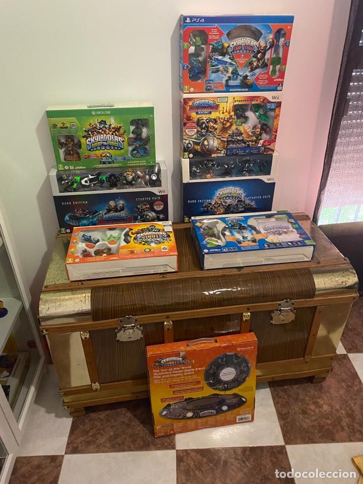 LOTE SKYLANDERS VARIAS PLATAFORMAS (Juguetes - Videojuegos y Consolas - Nintendo - Wii)