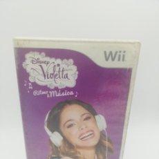 Videojuegos y Consolas: VIOLETTA RITMO MUSICA NINTENDO WII. Lote 277272348