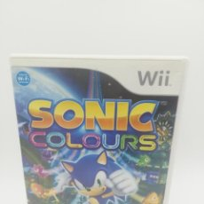 Videojuegos y Consolas: SONIC COLOURS NINTENDO WII. Lote 277273303