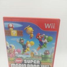 Videojuegos y Consolas: SUPER MARIO BROS. WII NINTENDO. Lote 277277548
