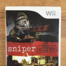 Videojuegos y Consolas: SNIPER ELITE - NINTENDO WII PAL ESPAÑOL COMPLETO CON INSTRUCCIONES.. Lote 277473468