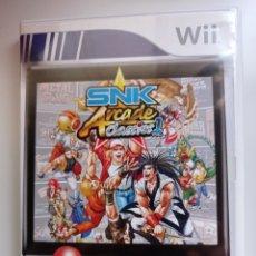 Videojuegos y Consolas: SNK ARCADE CLASSICS VOL. 1 PARA WII. Lote 277525623