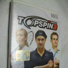 Videojuegos y Consolas: TOPSPIN3 CON ROGER FEDERER JUEGO PARA WII. Lote 277603813