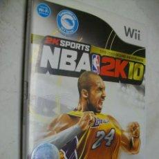 Videojuegos y Consolas: NBA 2K10 CON KOBE BRYANT JUEGO PARA WII. Lote 277603848