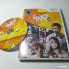 Videojuegos y Consolas: LET ´SING 6 VERSION ESPAÑOLA ( NINTENDO WII - WII U - PAL - ESP) (1). Lote 277712183