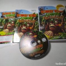 Videojuegos y Consolas: DONKEY KONG COUNTRY RETURNS ( NINTENDO WII - WII U - PAL - ESP) (1). Lote 277712263