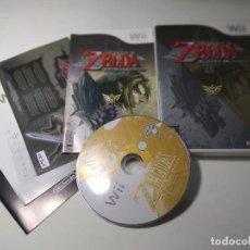 Videojuegos y Consolas: ZELDA - TWILIGHT PRINCESS ( NINTENDO WII - WII U - PAL - ESP) (1). Lote 277712563
