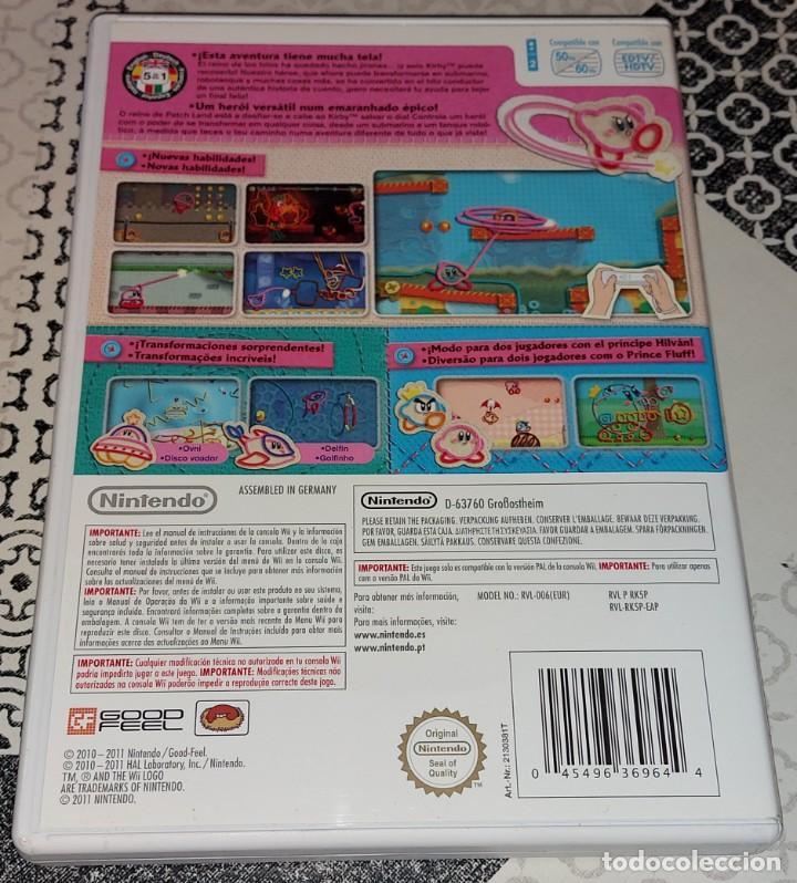 Videojuegos y Consolas: KIRBY KIRBYS EPIC YARN NINTENDO WII PAL ESPAÑA COMPLETO - Foto 2 - 277762488