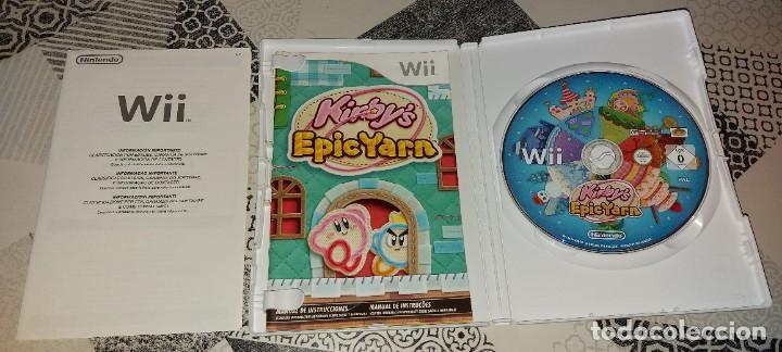 Videojuegos y Consolas: KIRBY KIRBYS EPIC YARN NINTENDO WII PAL ESPAÑA COMPLETO - Foto 3 - 277762488