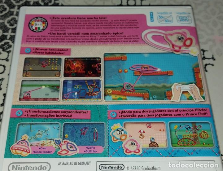 Videojuegos y Consolas: KIRBY KIRBYS EPIC YARN NINTENDO WII PAL ESPAÑA COMPLETO - Foto 4 - 277762488
