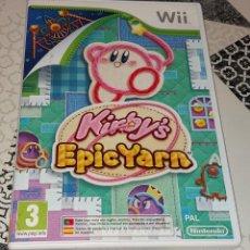 Videojuegos y Consolas: KIRBY KIRBY'S EPIC YARN NINTENDO WII PAL ESPAÑA COMPLETO. Lote 277762488