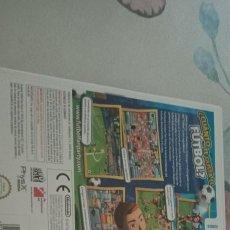 Videojuegos y Consolas: FANTASTIC FUTBOL FAN PARTY NINTENDO WII PAL ESPAÑA COMPLETO. Lote 278204173