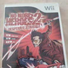 Videojuegos y Consolas: NO MORE HEROES 2 WII. Lote 278340453