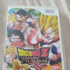 Videojuegos y Consolas: DRAGON BALL Z BUDOKAI TENKAICHI 3 WII. Lote 278341548