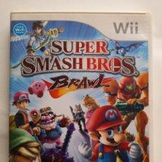 Videojuegos y Consolas: SUPER SMASH BROS BRAWL - JUEGO NINTENDO WII - REFGON. Lote 278361248