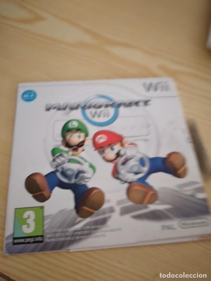 M-12 WII MARIO KART NINTENDO WII CAJA CARTON (Juguetes - Videojuegos y Consolas - Nintendo - Wii)