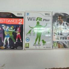 Videojuegos y Consolas: LOTE DE 3 JUEGOS PARA LA WII.. Lote 278778093