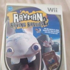 Videojuegos y Consolas: RAYMAN RAVING RABBIDS 2 WII. Lote 278886813