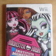 Videojuegos y Consolas: WII - MONSTER HIGH - INSTITUTO MONSTRUOSO - NINTENDO. Lote 282935988