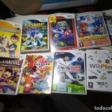 Videojuegos y Consolas: LOTE / PACK 8 JUEGOS WII ( LOS DE LAS FOTOS!) ENVIO 10 EUROS. Lote 285400673