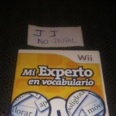 Videojuegos y Consolas: JUEGO SEGUNDA MANO WII MI EXPERTO VOCABULARIO COMPLETO. Lote 286201483