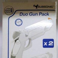 Videojuegos y Consolas: DUO GUN PACK PARA VII -MARCA SUBSONIC SOLO LOS SOPORTE DE LAS PISTOLAS NO INCLUYE LOS MANDOS. Lote 287092458