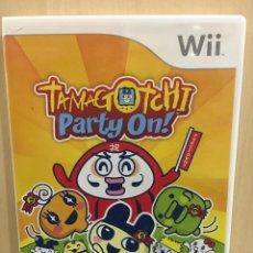 Videojuegos y Consolas: TAMAGOTCHI PARTY ON - WII (2ª MANO - BUENO). Lote 287191373