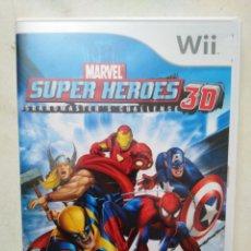 Videojuegos y Consolas: WII, MARVEL SUPER HÉROES 3D GRANDMASTER'S CHALLENGE. Lote 287489863