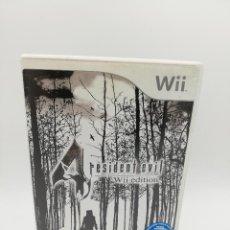Videogiochi e Consoli: RESIDENT EVIL WII EDITION NINTENDO. Lote 287585343