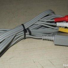 Videojuegos y Consolas: CABLE RCA NINTENDO WII. Lote 287629918