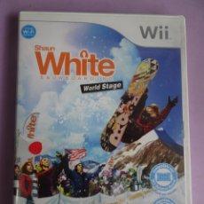 Videojuegos y Consolas: SHAUN WHITE SNOWBOARDING WORLD STAGE WII. Lote 287651573
