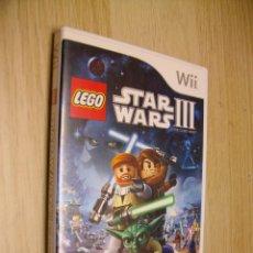 Videojuegos y Consolas: LEGO STAR WARS III JUEGO DE NINTENDO WII. Lote 288071858