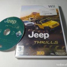 Videojuegos y Consolas: JEEP THRILLS ( NINTENDO WII - PAL - ESP). Lote 288159783