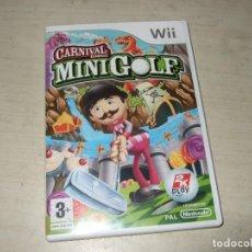 Videojuegos y Consolas: JUEGO CARNAVAL MINI GOLF - NINTENDO WII. Lote 288183843