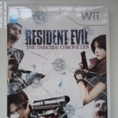 Videojuegos y Consolas: JUEGO RESIDENT EVIL THE DARKSIDE CHRONICLES WII PAL ESPAÑA COMPLETO. Lote 288085413