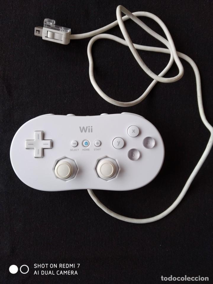 WII CLASICO CONTROLADOR BLANCO (Juguetes - Videojuegos y Consolas - Nintendo - Wii)