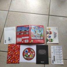 Videojuegos y Consolas: NEW SUPER MARIO BROS NINTENDO WII WIIU PAL-ESPAÑA , ORIGINAL 100%. Lote 288473428
