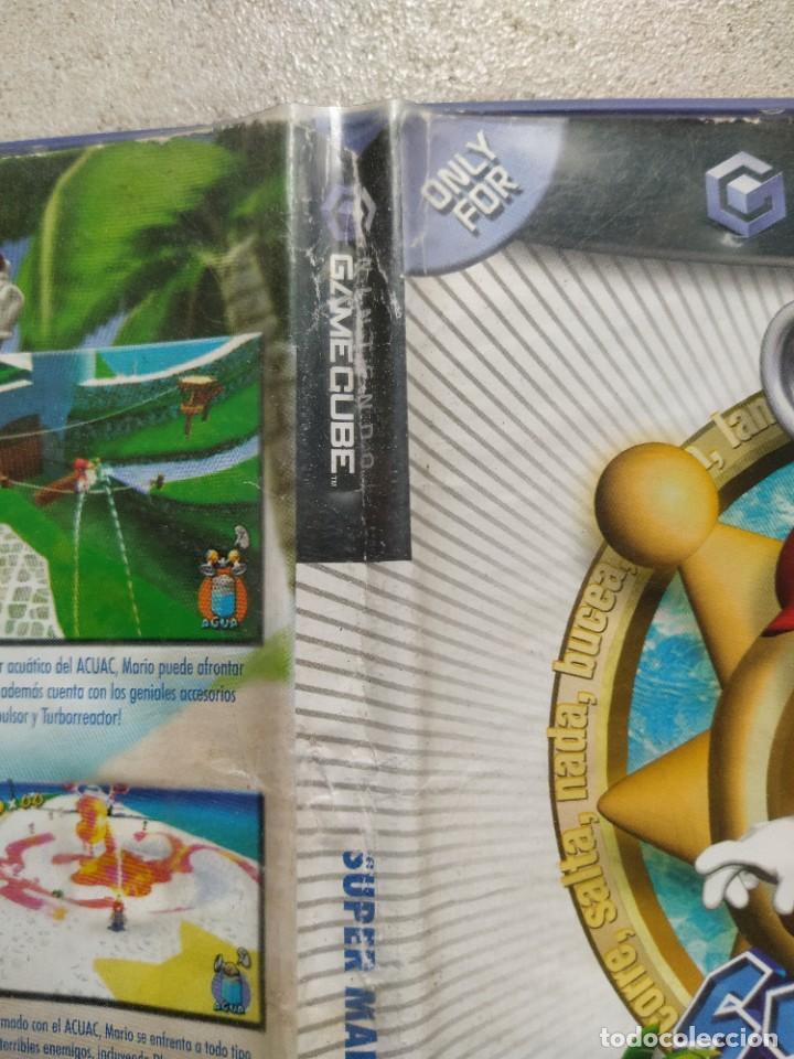 Videojuegos y Consolas: SUPER MARIO SUNSHINE NINTENDO GAMECUBE GC PAL-ESPAÑA , ORIGINAL 100% - Foto 3 - 288473873