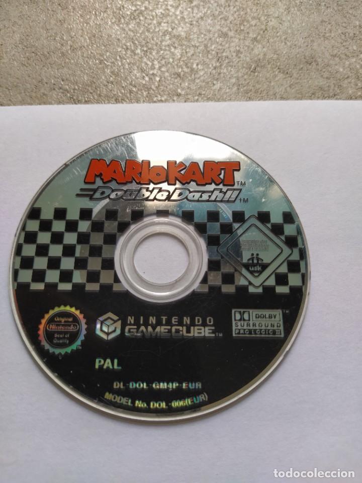 SOLO EL CD MARIO KART DOUBLE DASH NINTENDO GAMECUBE GC PAL-EUROPA , ORIGINAL 100% (Juguetes - Videojuegos y Consolas - Nintendo - Wii)
